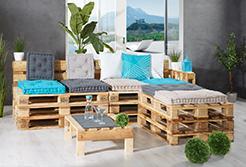 Направи си сам: Градински мебели от палети